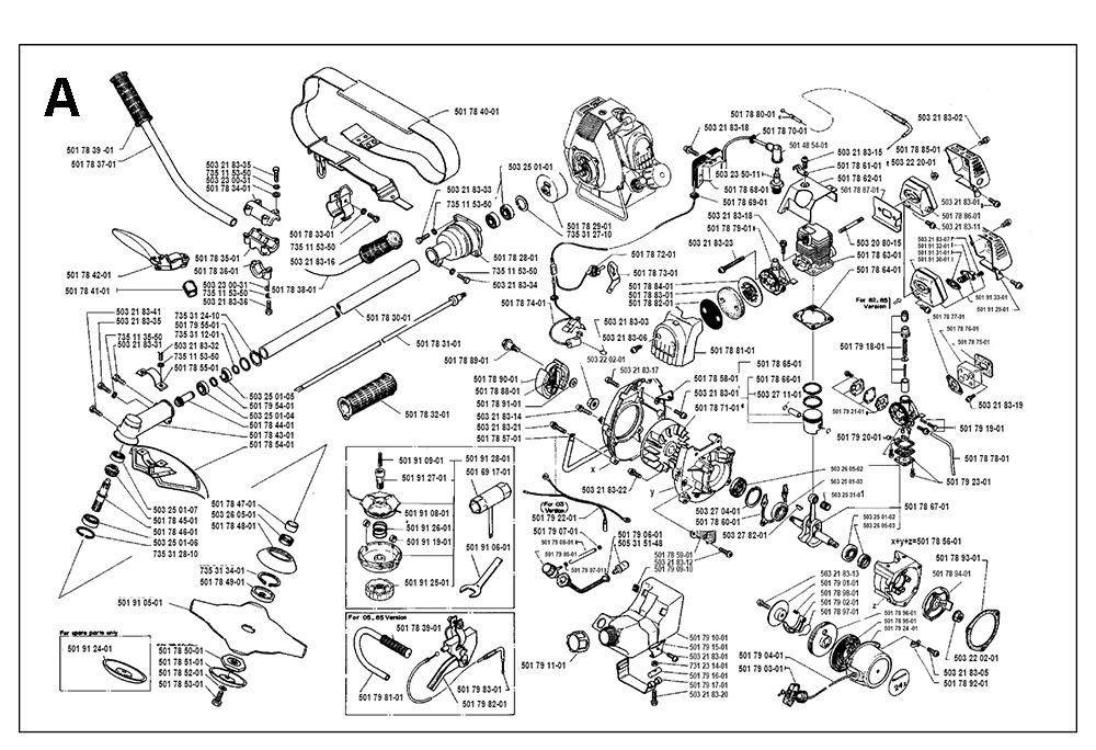 Husqvarna 372 Parts Manual