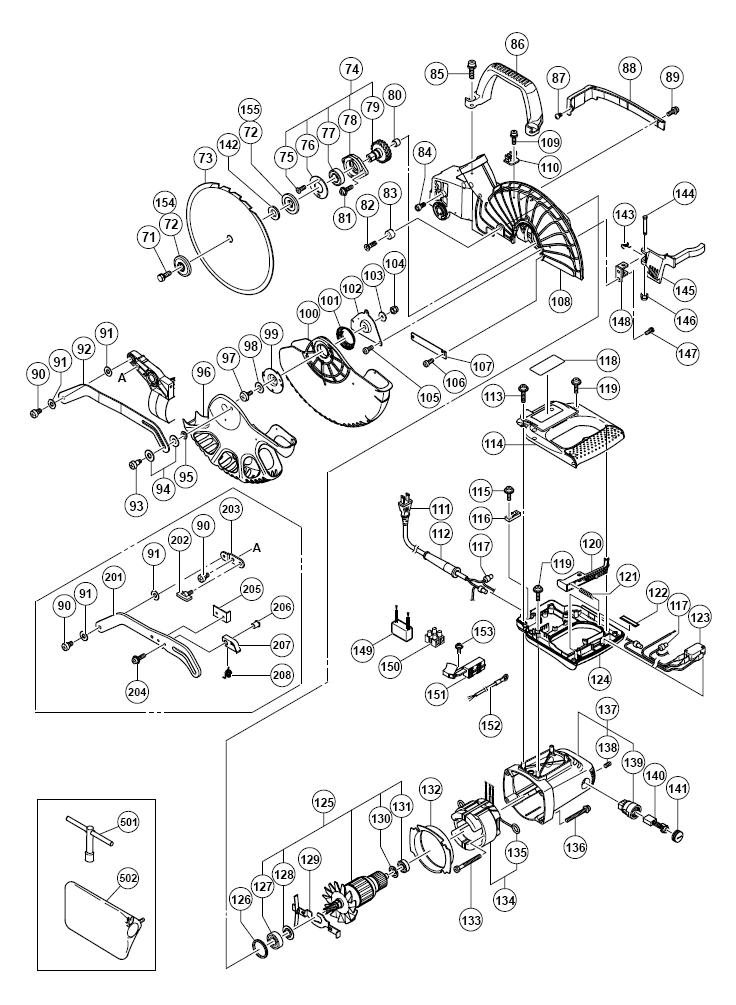 Buy Hitachi C10fce Replacement Tool Parts