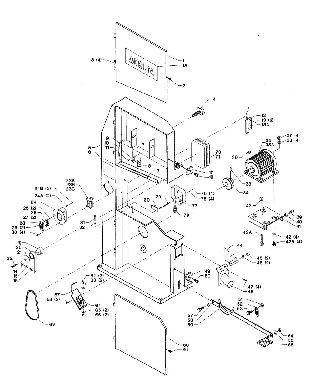 wiring diagram for deltum radial arm saw wiring diagram database