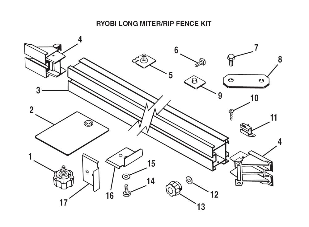 buy ryobi 4060300 replacement tool parts