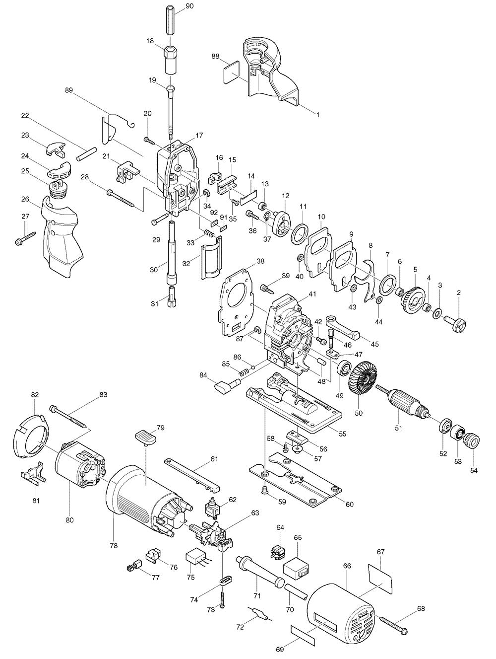Buy Makita 4305t Replacement Tool Parts