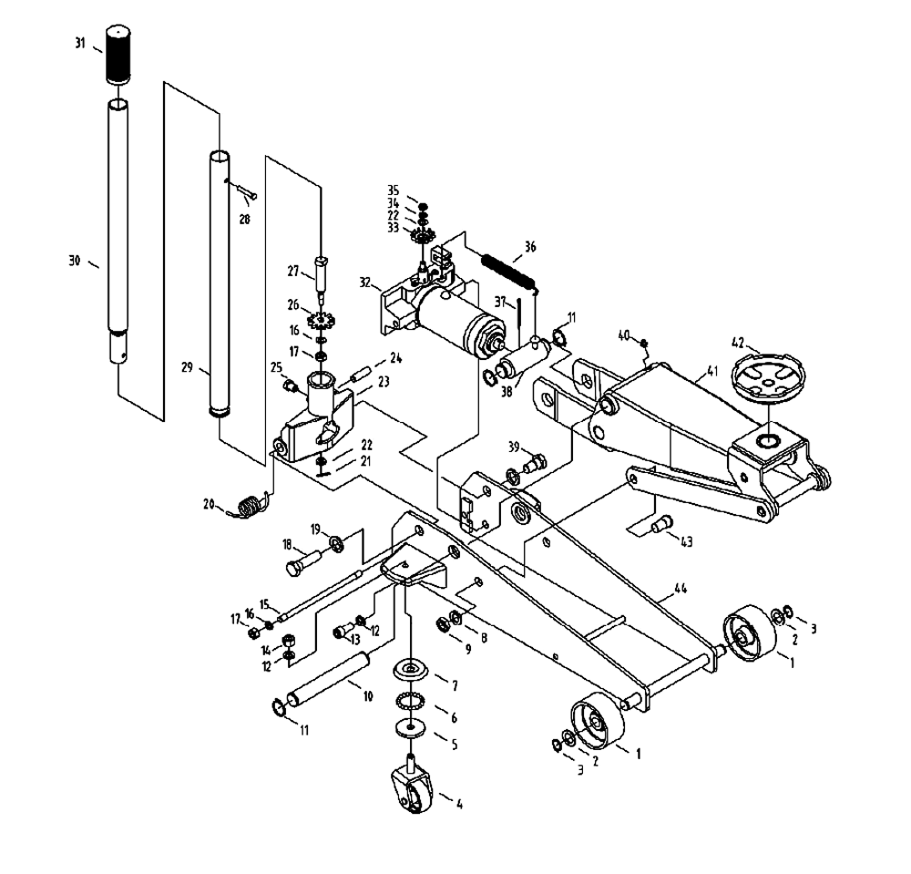 Awesome Craftsman Floor Jack Parts additionally Trailer Wiring Diagrams in addition Jet Ahj20 456620 Air Hydraulic Bottle Jack Parts C 32652 155426 32825 moreover LR2055Series moreover 807082 3 Ton Aluminum Floor Jacks  pared. on 3 ton floor jack parts diagram