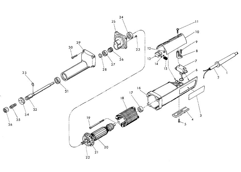 milwaukee 5192 parts schematic