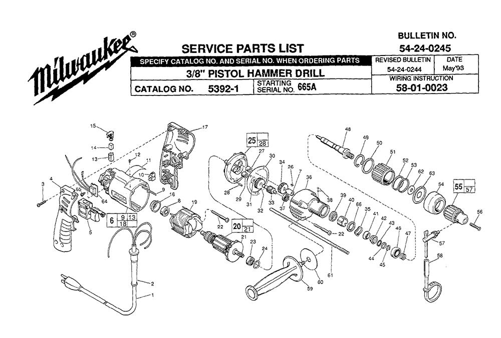 buy milwaukee 5392 8 u0026quot  pistol replacement tool