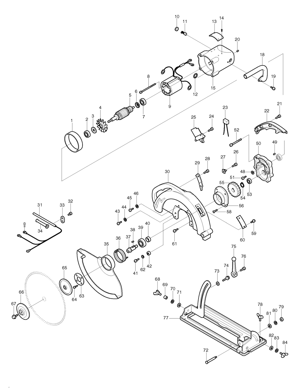 Buy Makita 5401n Replacement Tool Parts A Href Wilton D6 List And Diagram Ereplacementpartscom Schematic