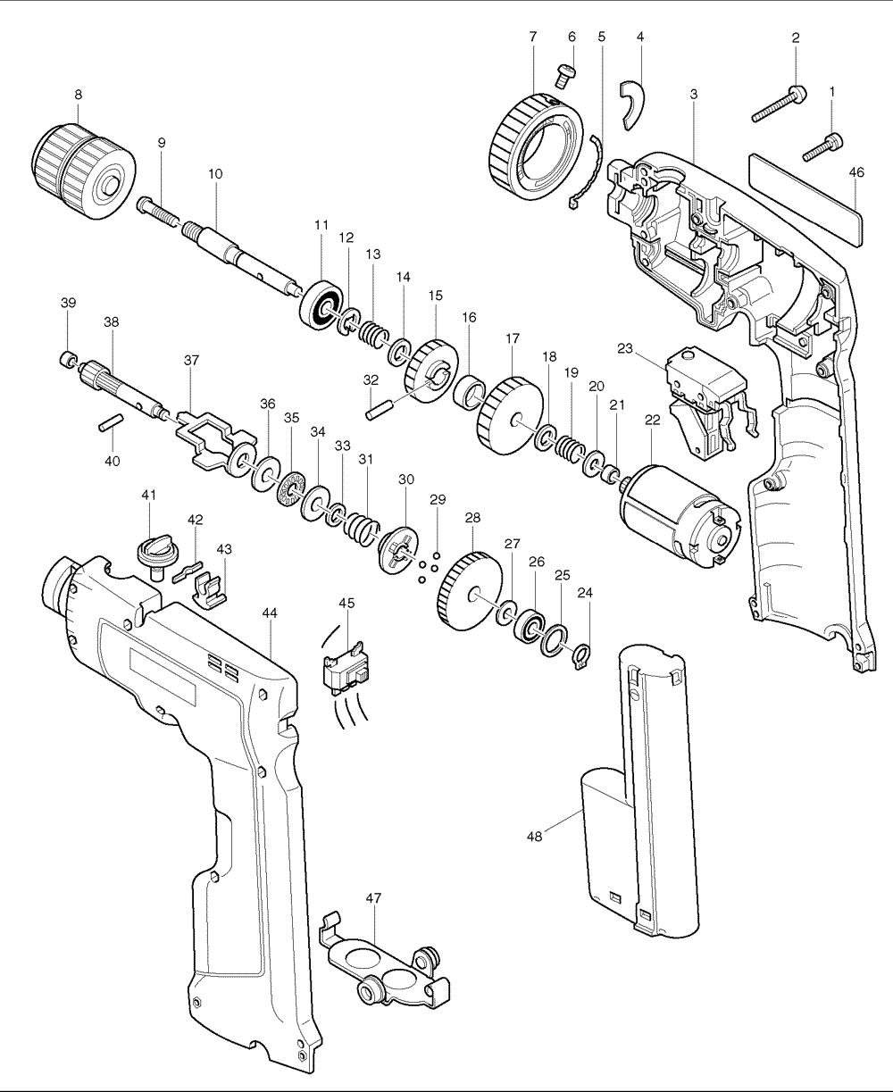 Buy Makita 6011d Replacement Tool Parts