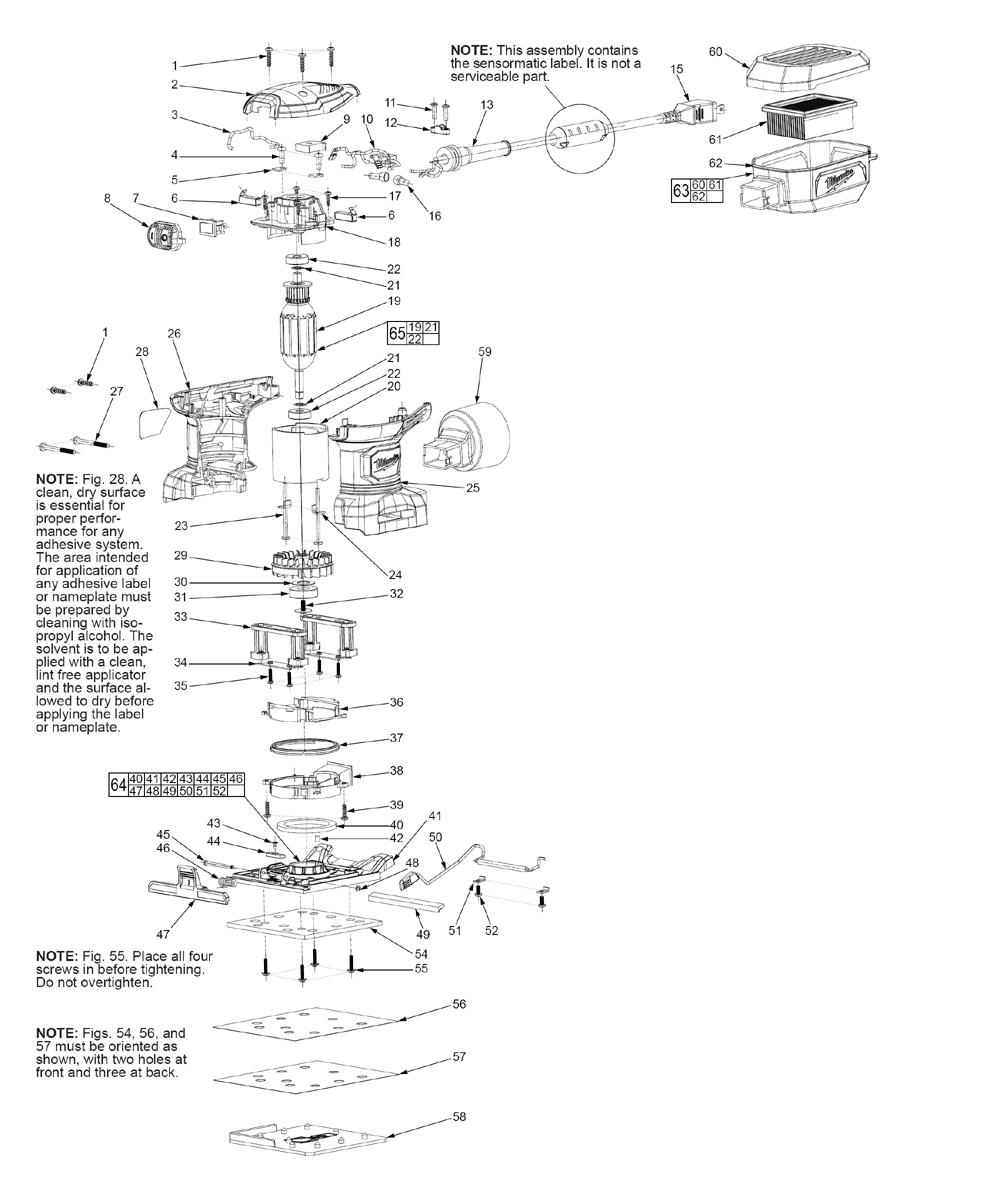 Milwaukee 6033-21 1//4 Sheet Palm Sander