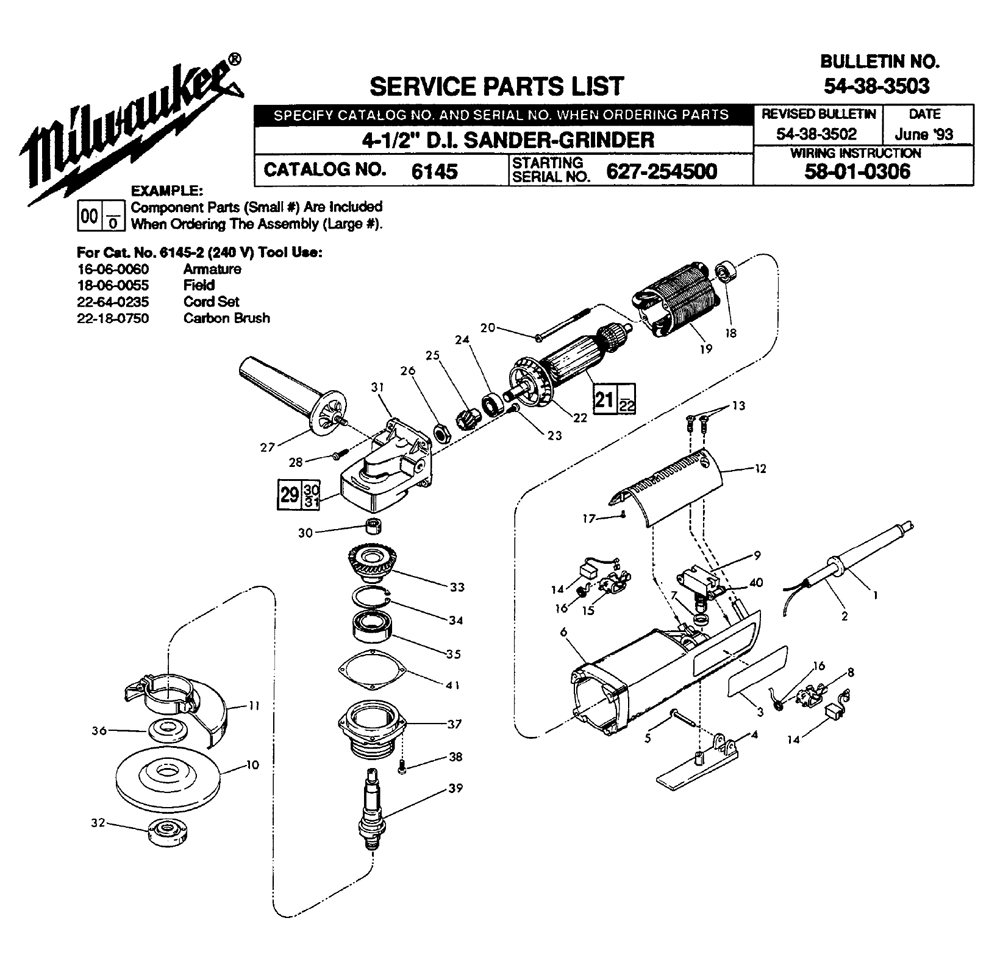 Mag Drill Wiring Schematic Diagrams Electric Motor Diagram Milwaukee Car Auto Buy 6145 627 254500