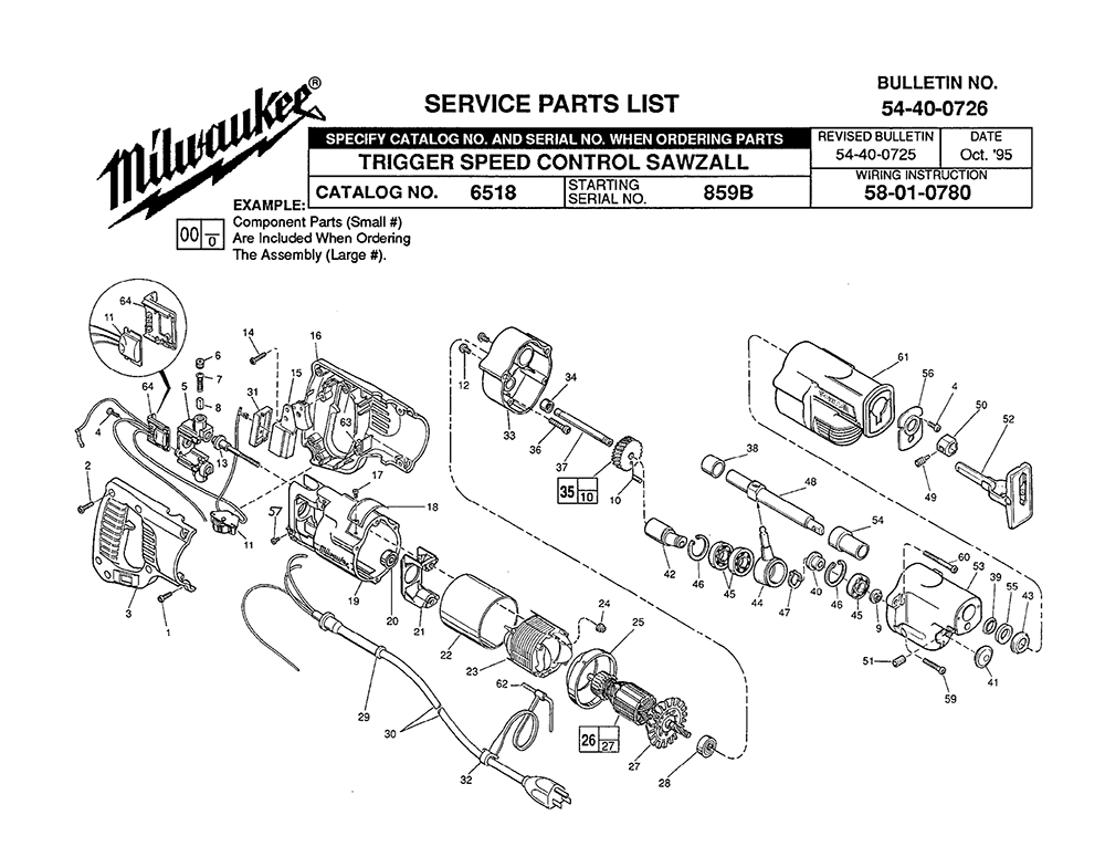 buy milwaukee 6518