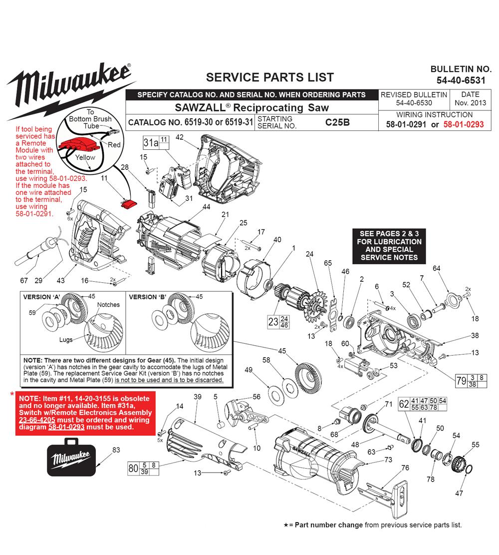 Buy Milwaukee 6519