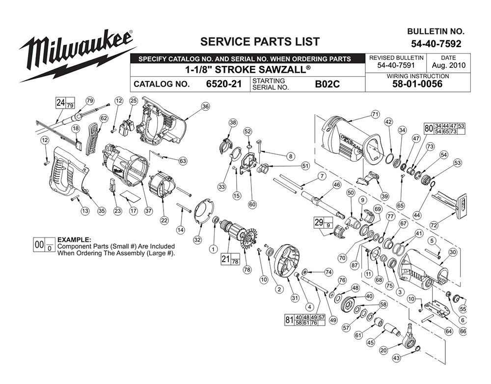 milwaukee sawzall wiring diagram