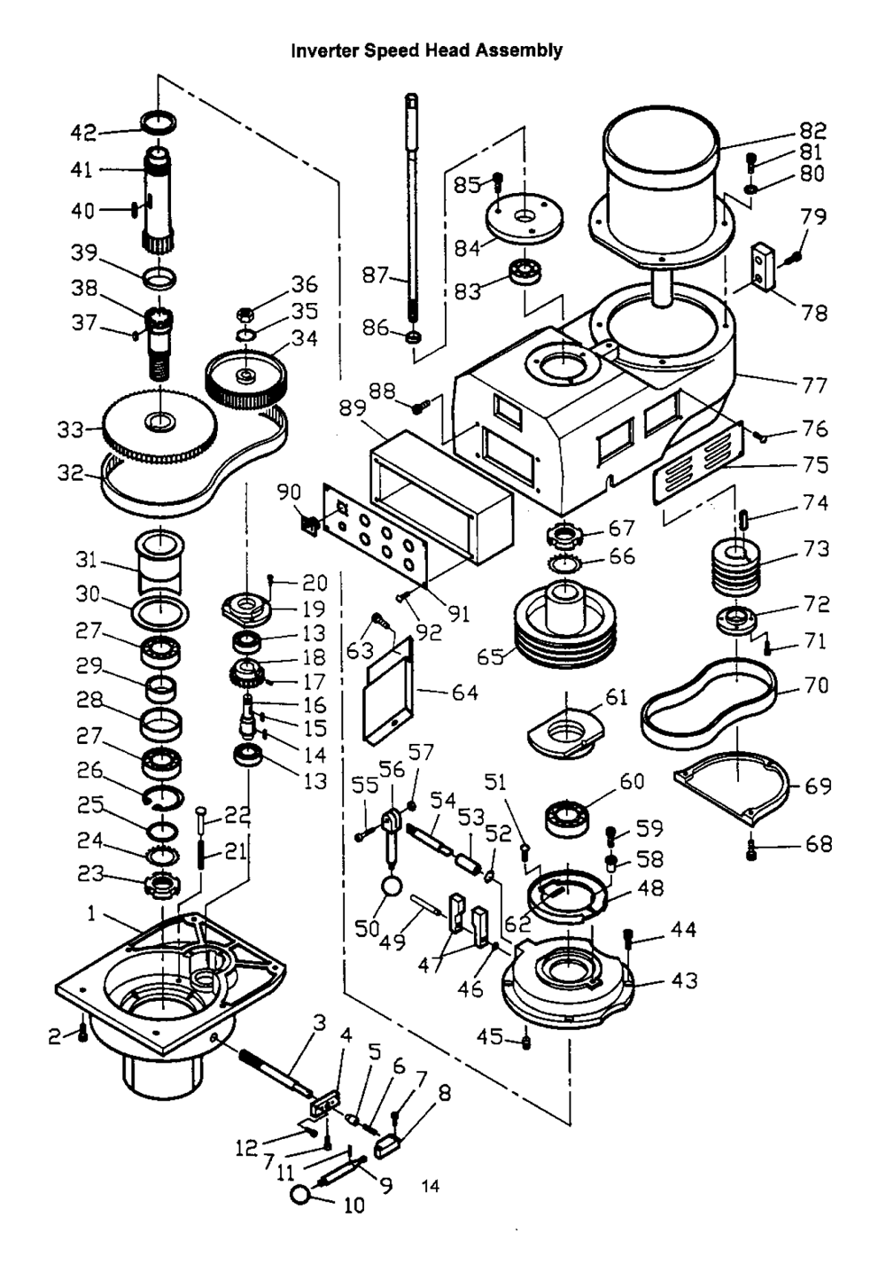 Machine Parts Schematic Not Lossing Wiring Diagram Sewing Motor Buy Jet 690912 Jtm 1050evs 230 Milling With Acu Rite 3 Axis Rh Toolpartspro Com Sizing Machinery Manual
