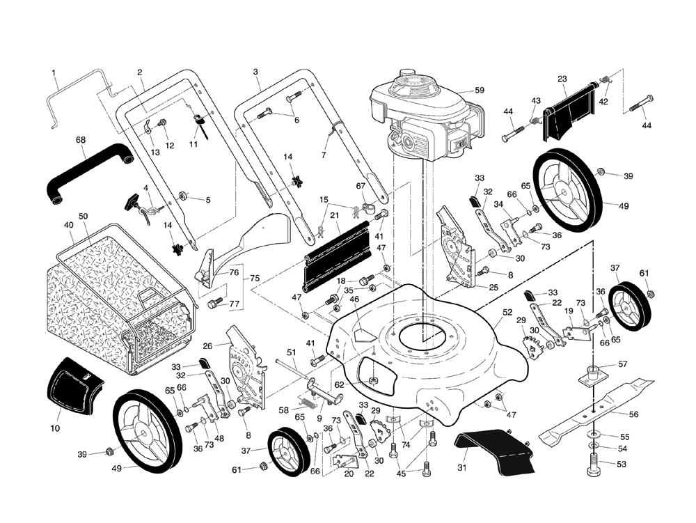 buy husqvarna 7021p 96133000700 replacement tool parts husqvarna rh toolpartspro com husqvarna 7021p service manual husqvarna lawn mower 7021p manual