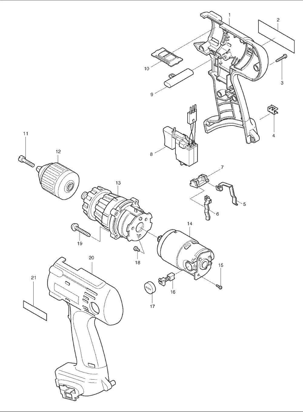 Makita Drill Switch Diagram Free Download Wiring Diagram Schematic on