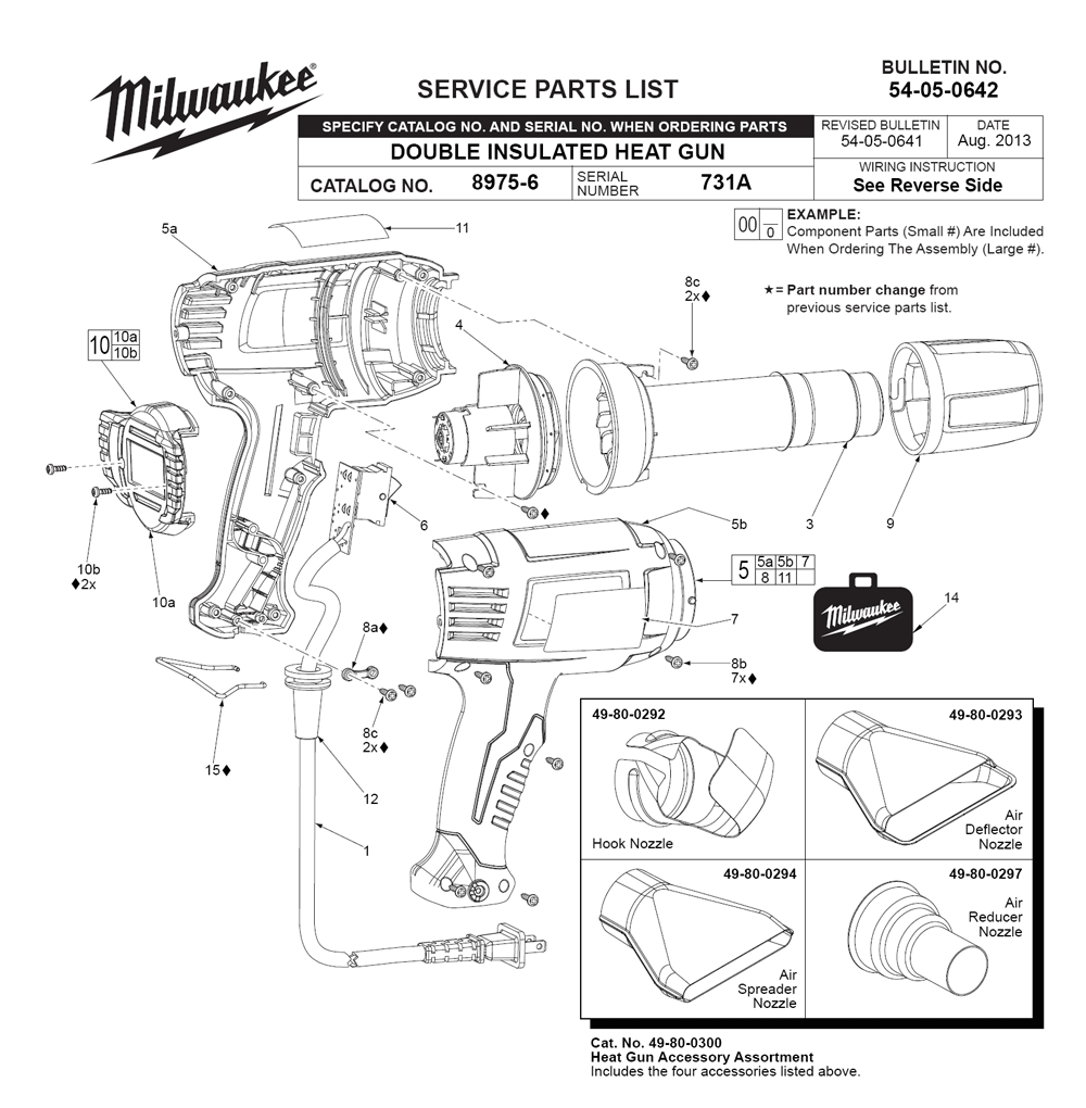 Buy Milwaukee 8975 6 731a Replacement Tool Parts Wilton 748a List And Diagram Ereplacementpartscom Fig 0