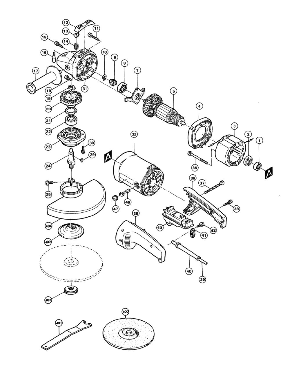 Buy Makita 9027l Replacement Tool Parts