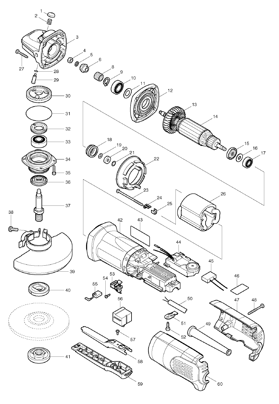 Makita Parts Diagram - a-k-b.info on