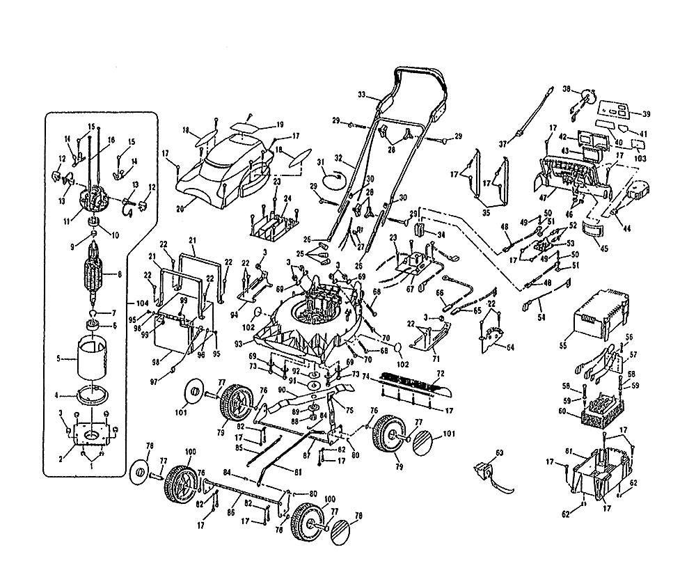 Buy ryobi bmm2400 719263 replacement tool parts ryobi bmm2400 ryobi bmm2400 719263 parts schematic pooptronica Choice Image