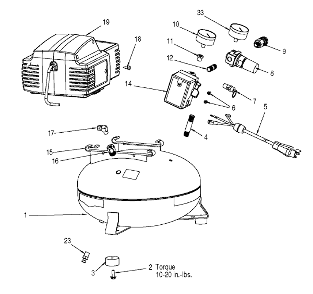 Wiring Diagram For Bostitch Air Compressor Diagrams Champion 100 Cap2060p Parts List And 220 Bag