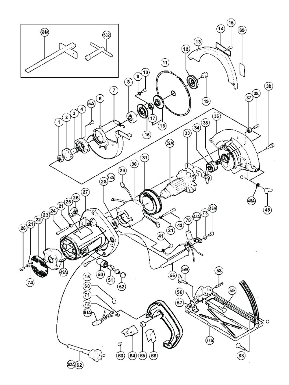hitachi c6 parts schematic
