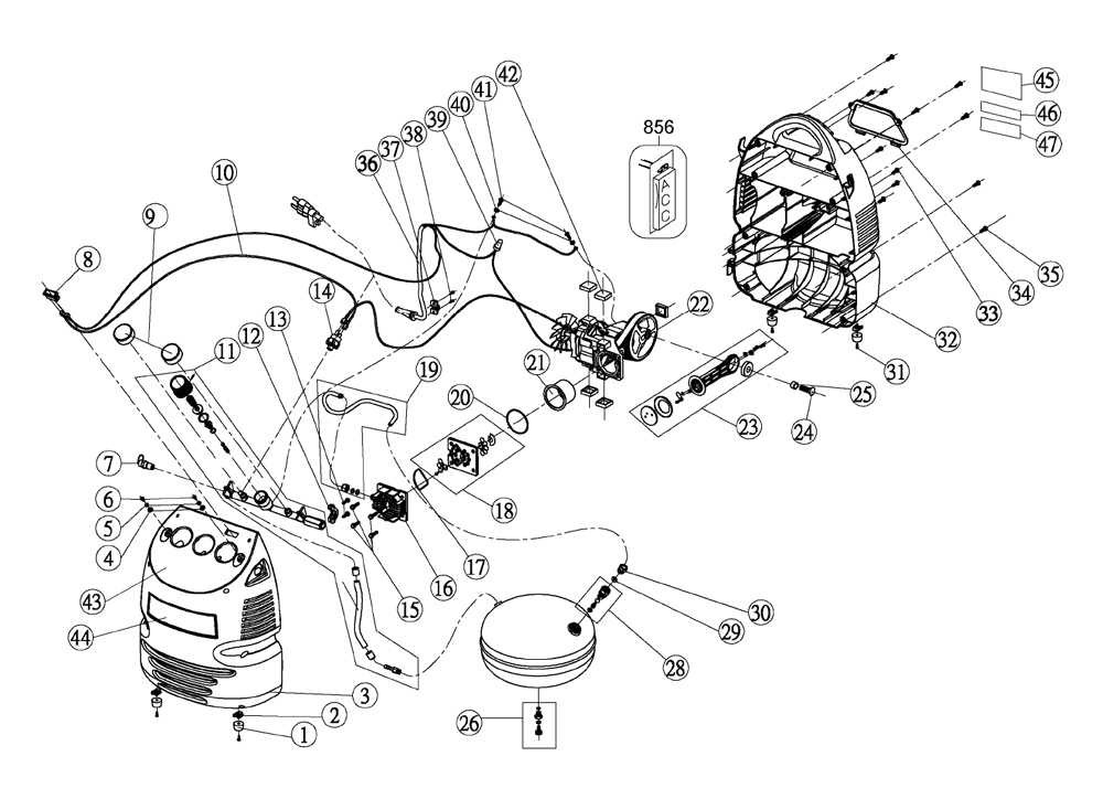 wiring diagram for porter cable air compressor   46 wiring