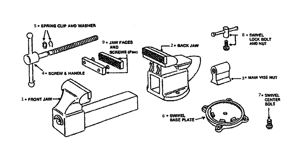 Wilton Vise Parts >> Buy Wilton D43 1 2m3 Replacement Tool Parts Wilton D43 1 2m3 A