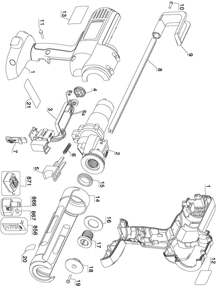 Colorful Hitachi Nail Gun Parts Composition - Nail Paint Design ...