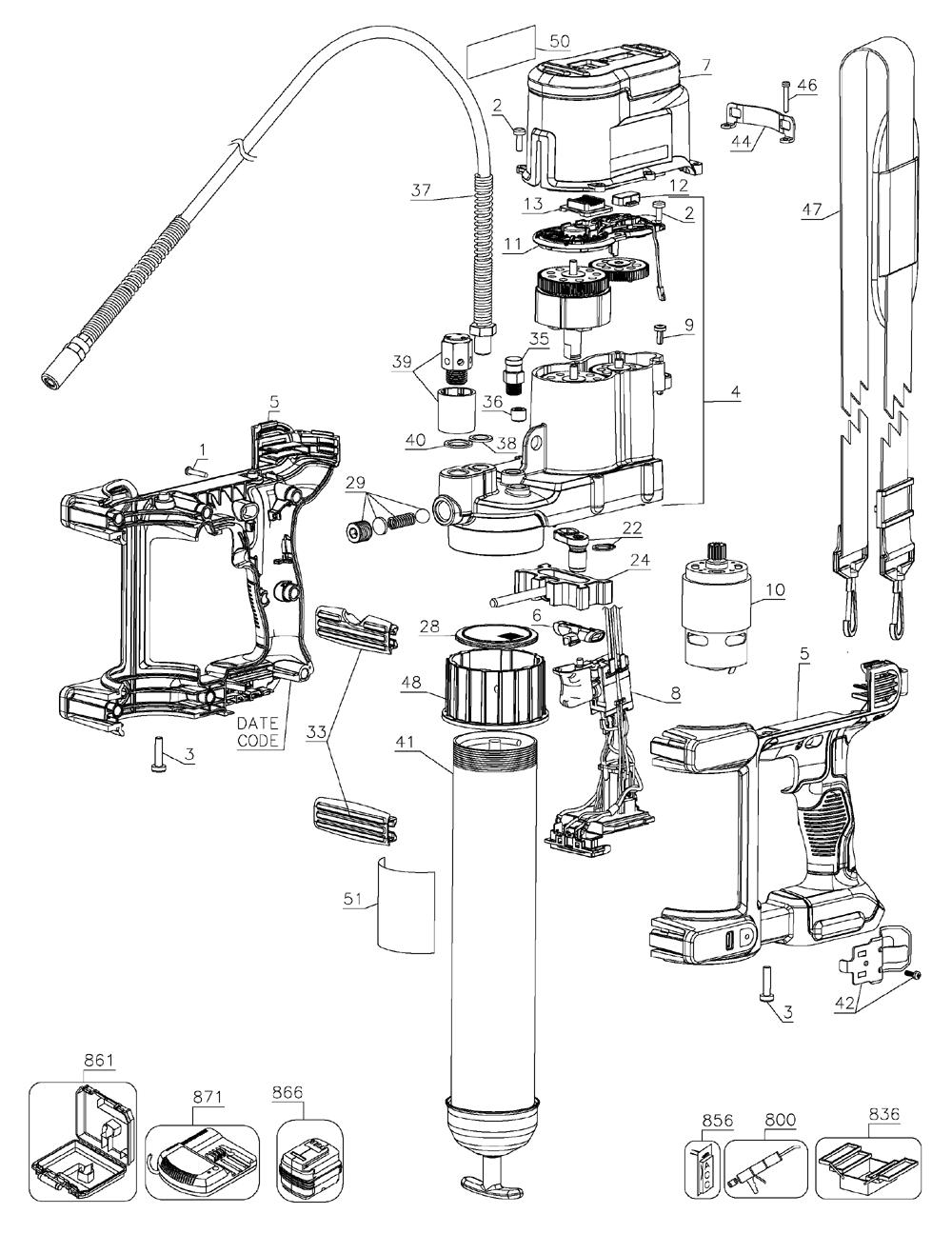 Lincoln Grease Gun Parts Diagram Schematic Diagrams Quick Lube Wiring Trusted U2022 144 Volt Breakdown