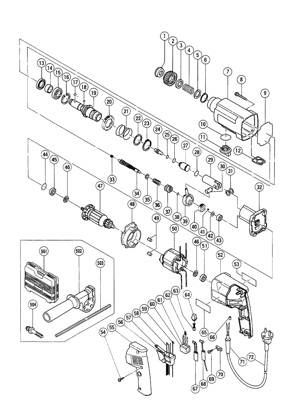 hitachi tool schematics lima stanito Marine Alternator Wiring buy hitachi dh24vb replacement tool parts hitachi dh24vb hitachi user manuals hitachi alternator wiring diagram