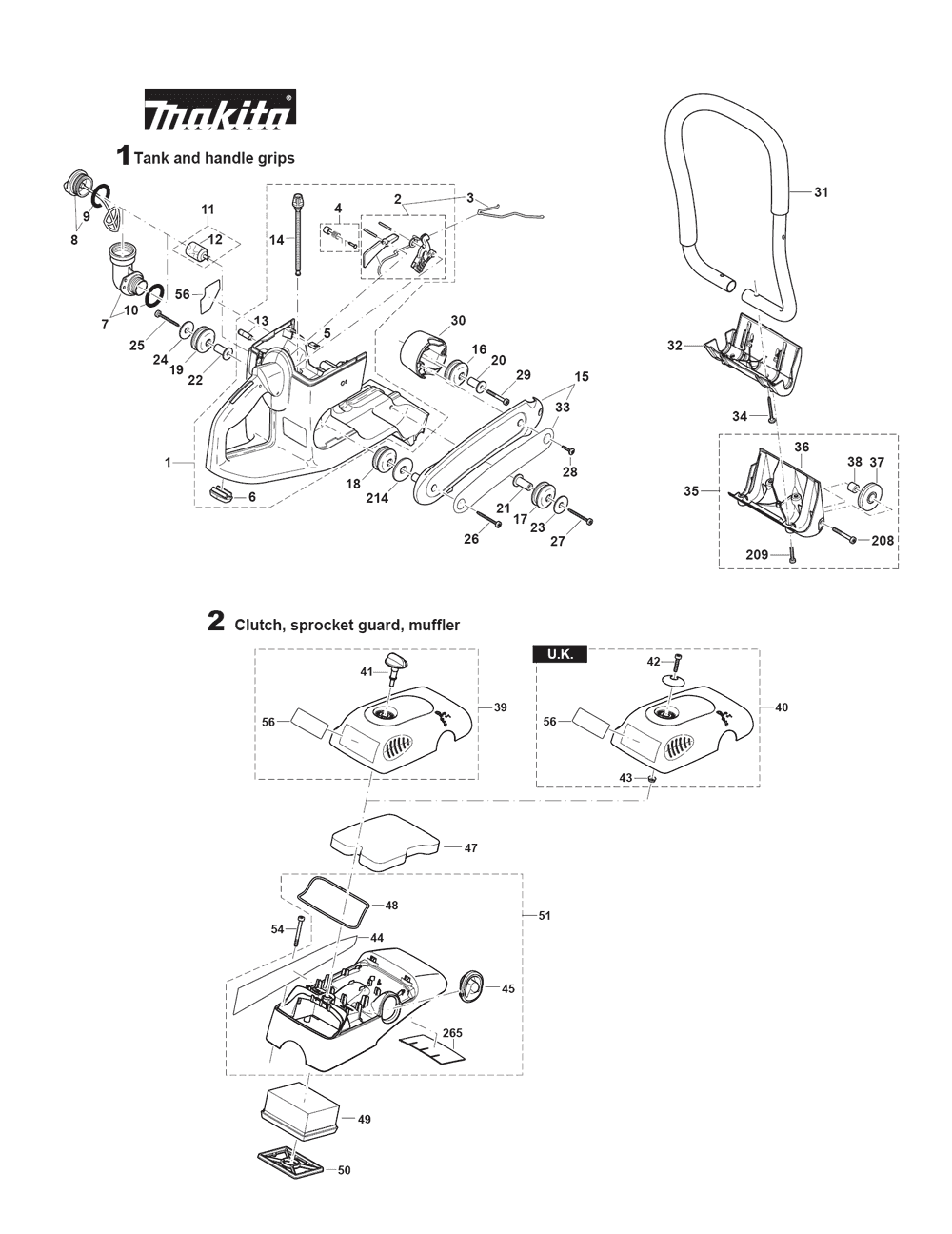 Buy Makita Dpc8132 16 Inch 81cc Power Cutter Ek8100 Replacement Wilton Sbv100 Parts List And Diagram Ereplacementpartscom Schematic