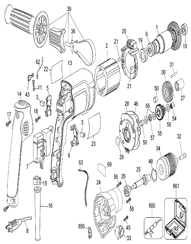 dewalt dw236 wiring diagram   27 wiring diagram images