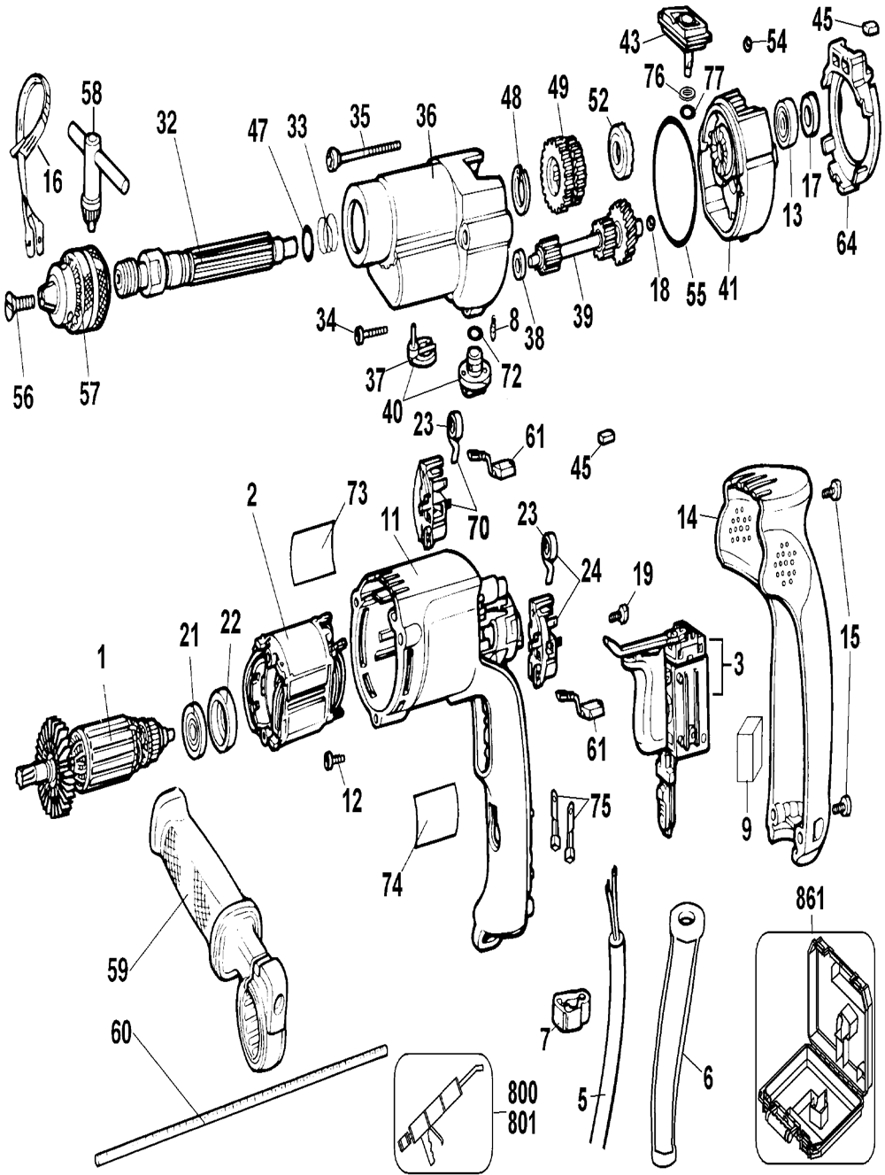 De Walt Tool Parts Diagrams - Wiring Schematics De Walt Grinder Wiring Diagram on