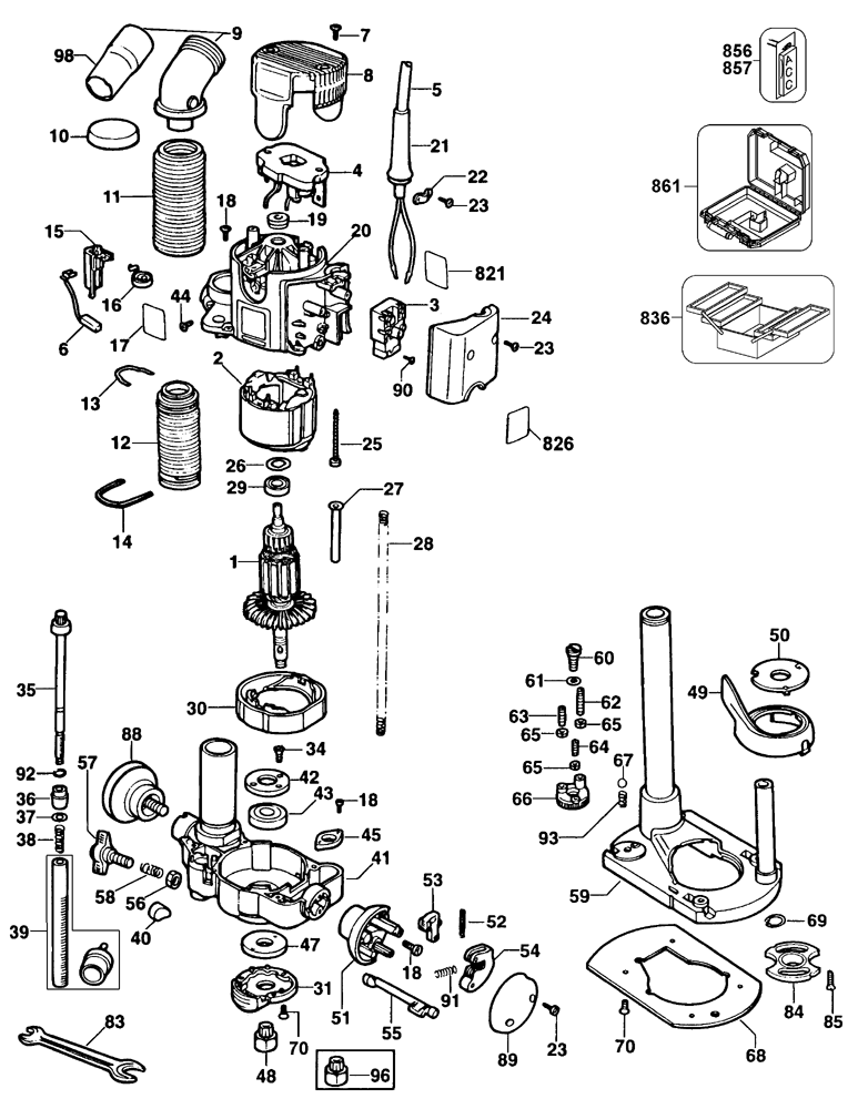 Wiring Diagram Dewalt