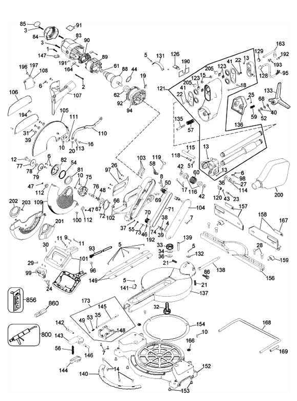 Dewalt Manual for dw705