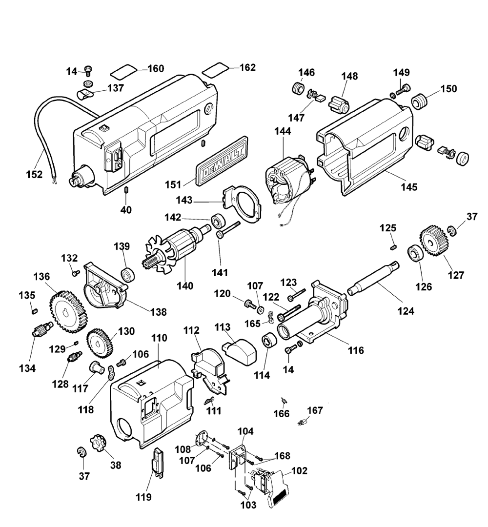 de walt tool parts diagrams best wiring library Engine Head Resurfacing dewalt dw733 type 2 parts schematic