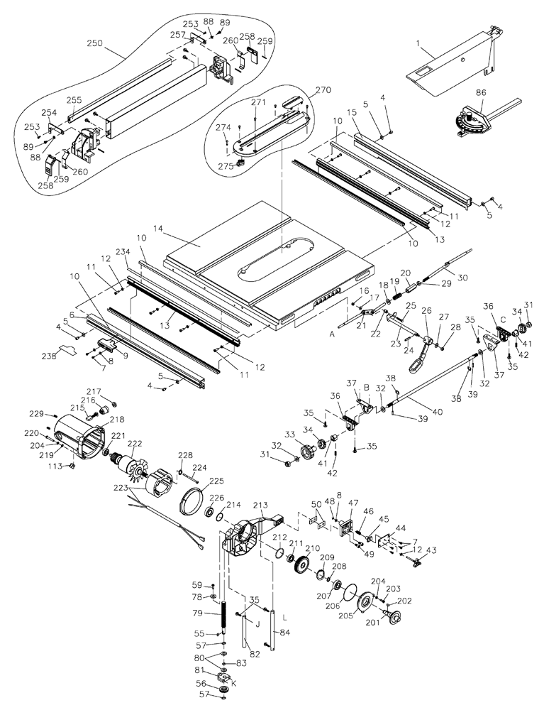 Dw745 Parts Diagram