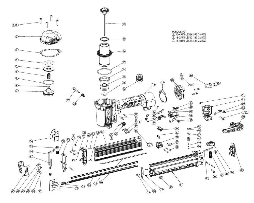 Buy Dewalt Dwfp12233 Type 1 18ga Precision Point Brad Nailer Wilton D6 Parts List And Diagram Ereplacementpartscom Schematic