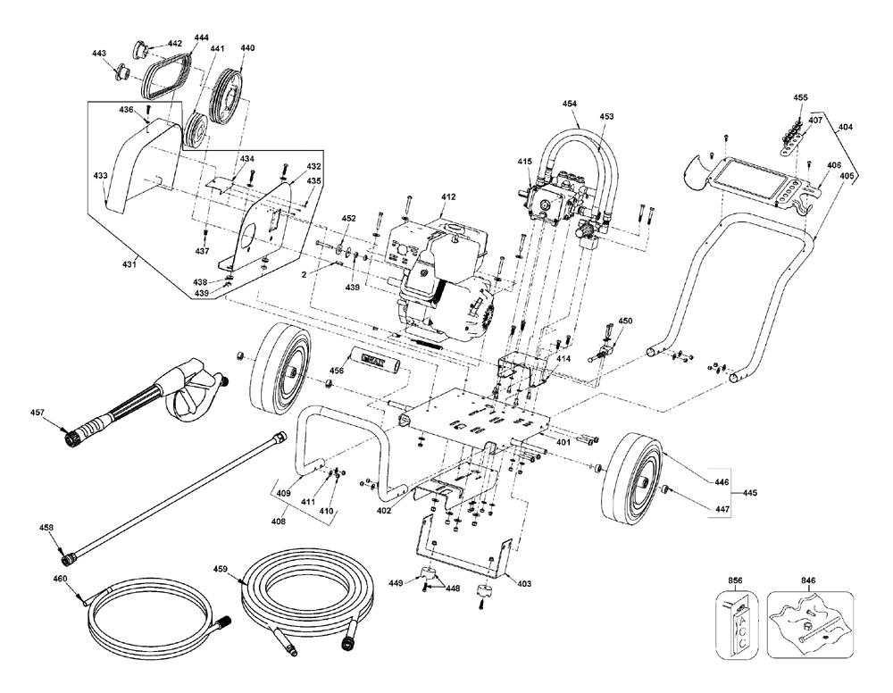 Buy Dewalt Dxpw60606 Type 0 Pressure Washer Replacement