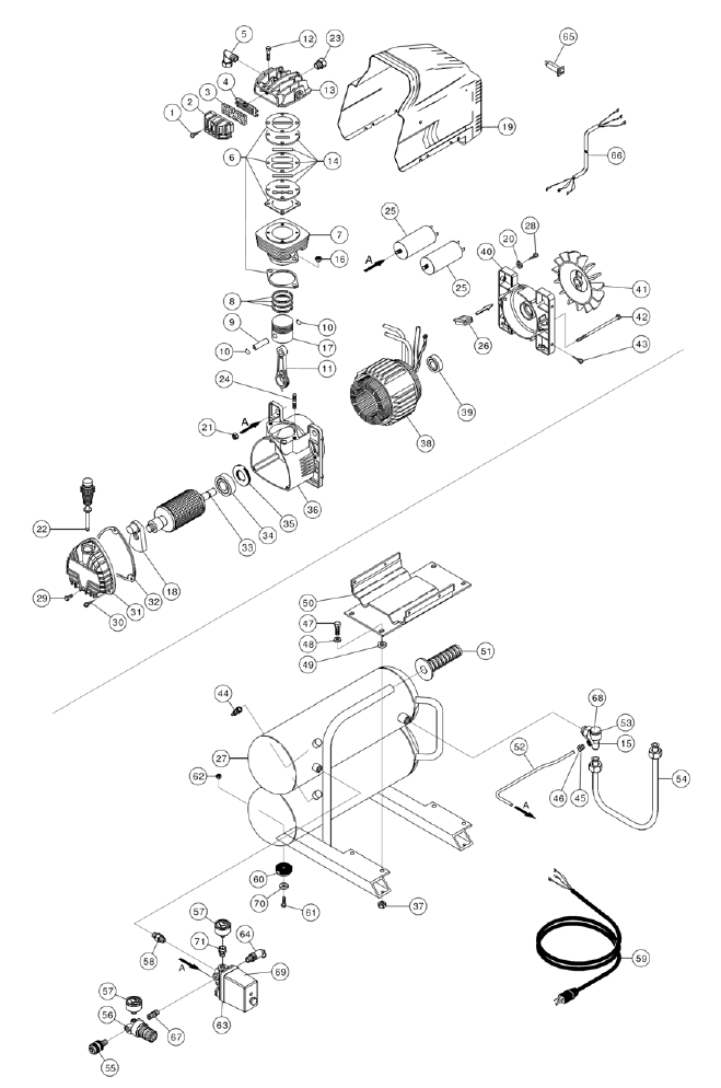 hitachi air compressor parts. hitachi ec12 parts schematic air compressor