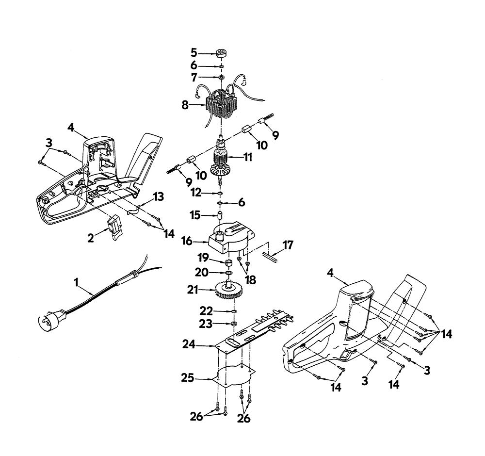 Buy Ryobi Ht618 Replacement Tool Parts