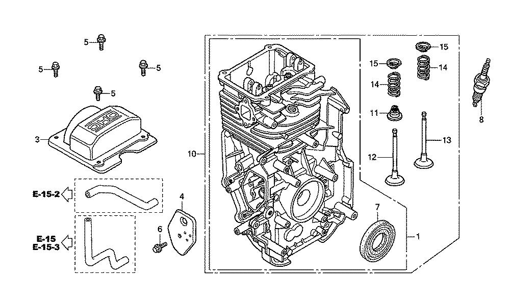 Fig0: Honda Gc160 5 0 Engine Spring Diagram At Eklablog.co