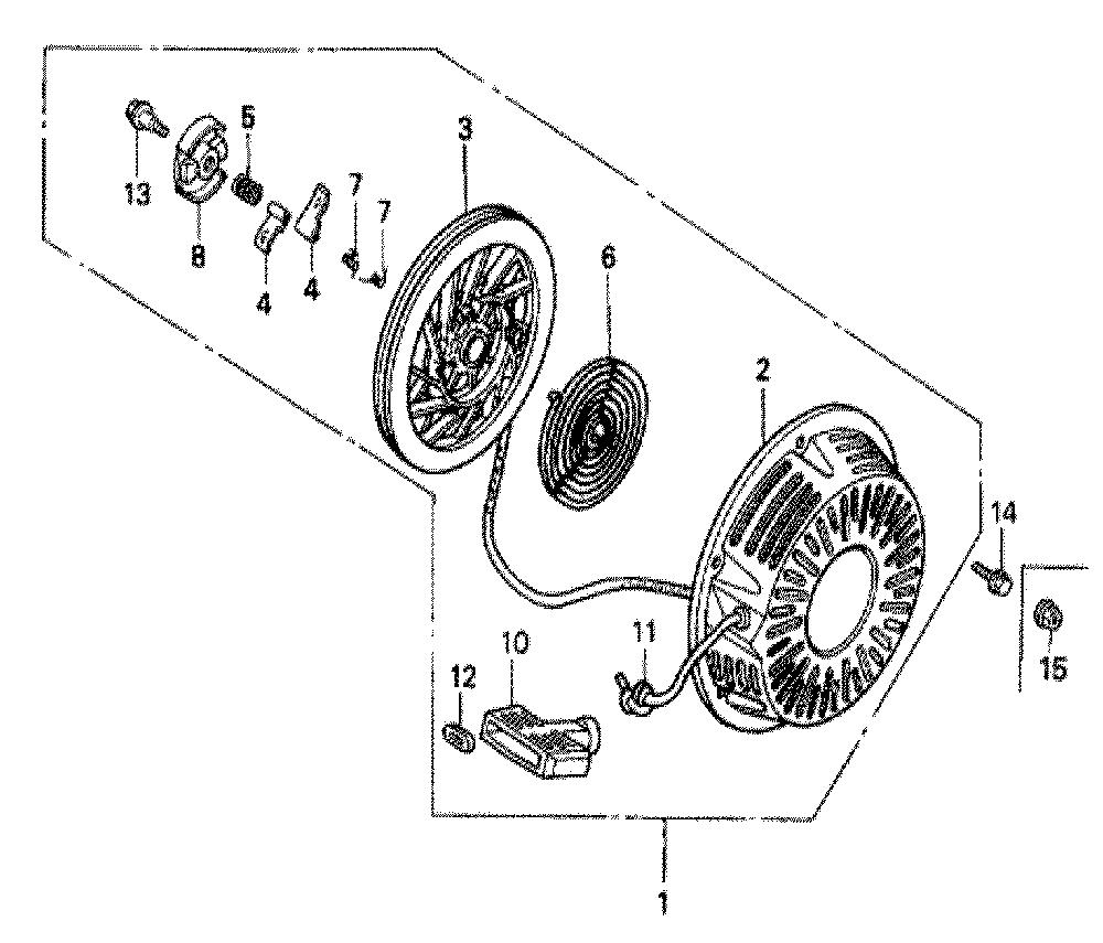 Honda GX620 Type-VZE1 Parts Schematic