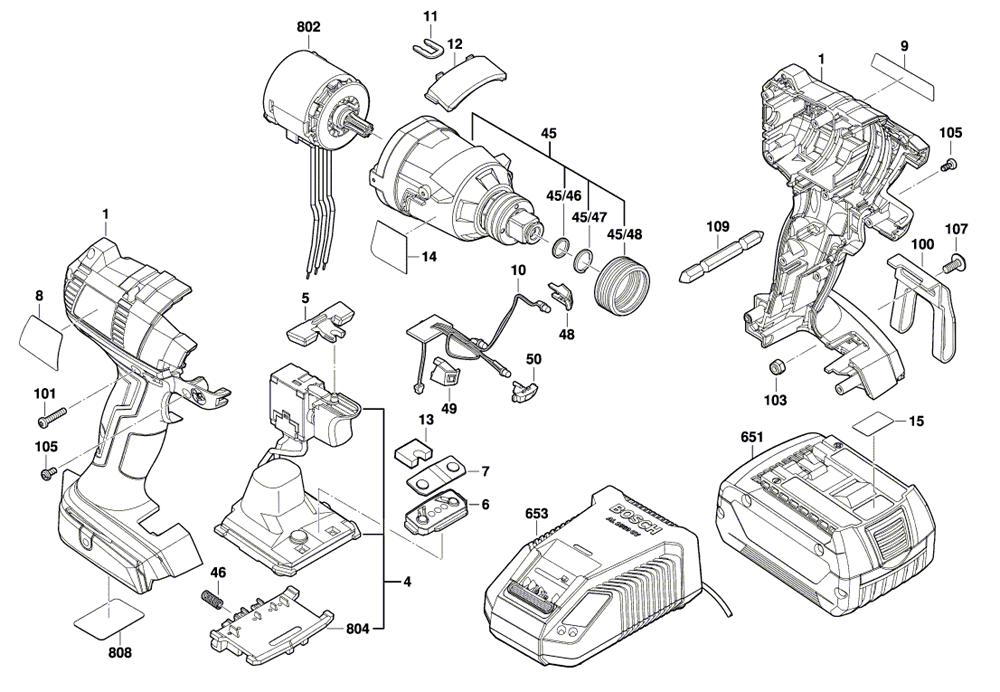 bosch idh182 02 3601jb9110 PB buy bosch idh182 02 (3601jb9110) 18v brushless socket ready impact
