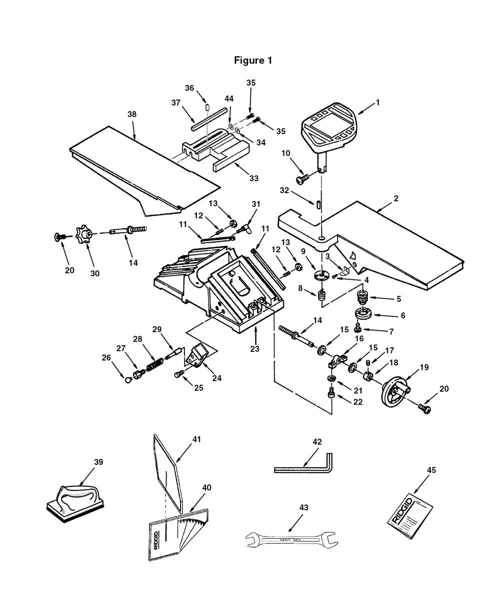 Buy Ridgid Jp0610 Replacement Tool Parts