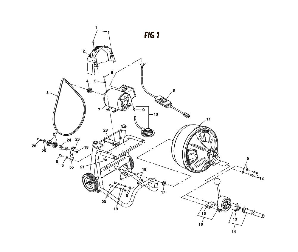 Ridgid K40 Snake Wiring Diagram Circuit Schematic Bruno Sre 2750 K 400 Drum Machine Parts Photos And Wallpapers