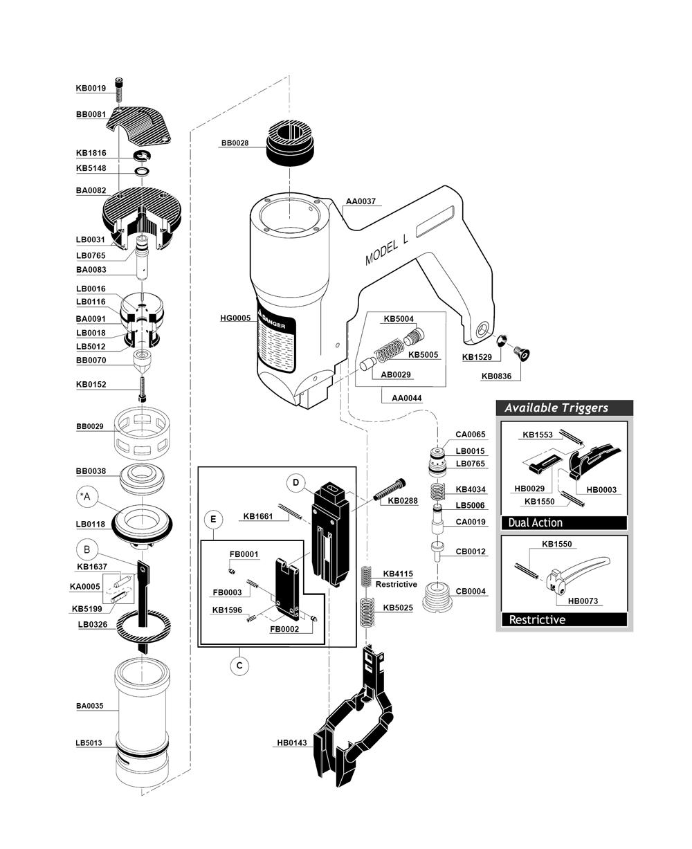 Buy Senco L Ln4450 1 Replacement Tool Parts Ryobi Ry29550 List And Diagram Ereplacementpartscom Fig 0