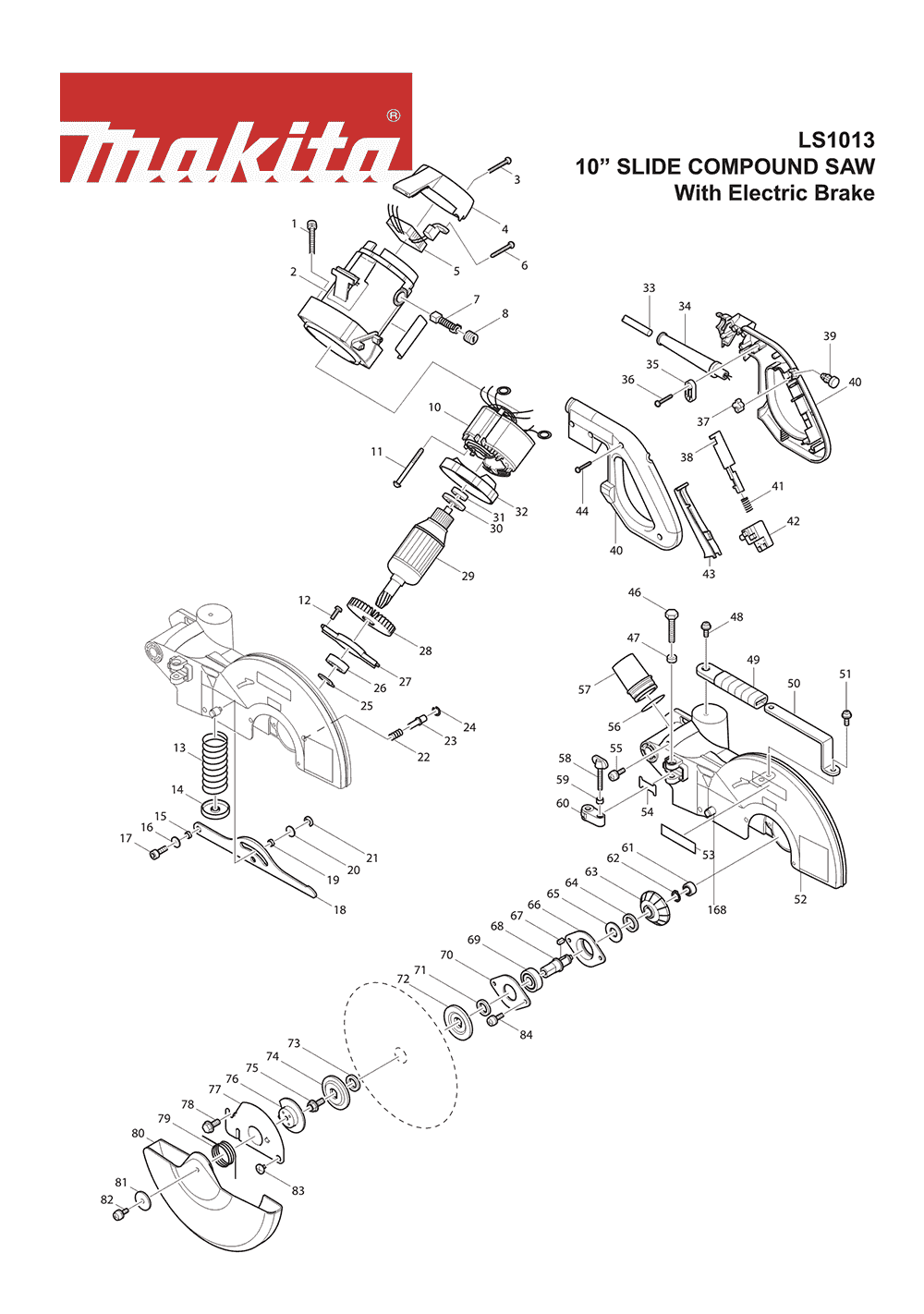 Makita Miter Saw Switch Wiring Diagram Trusted Diagrams Craftsman 10 Table Basic U2022 Parts