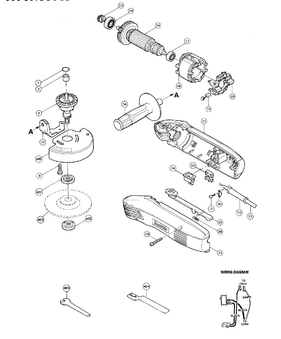 buy makita n900 replacement tool parts
