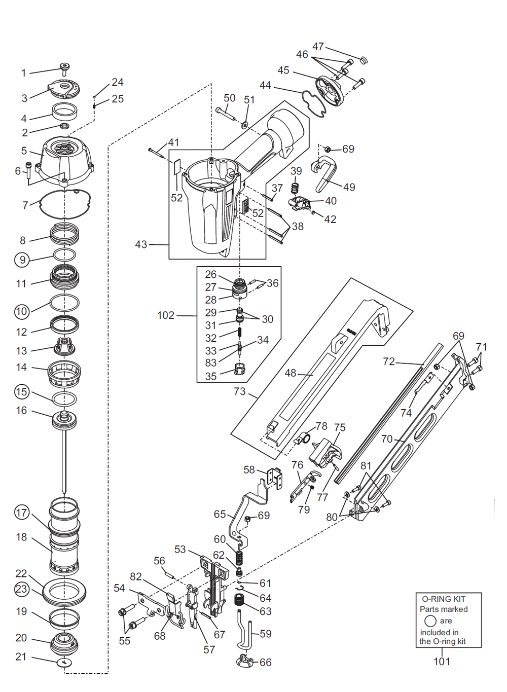 Buy Max Nf665 15 Replacement Tool Parts A Href Wilton D6 List And Diagram Ereplacementpartscom Schematic
