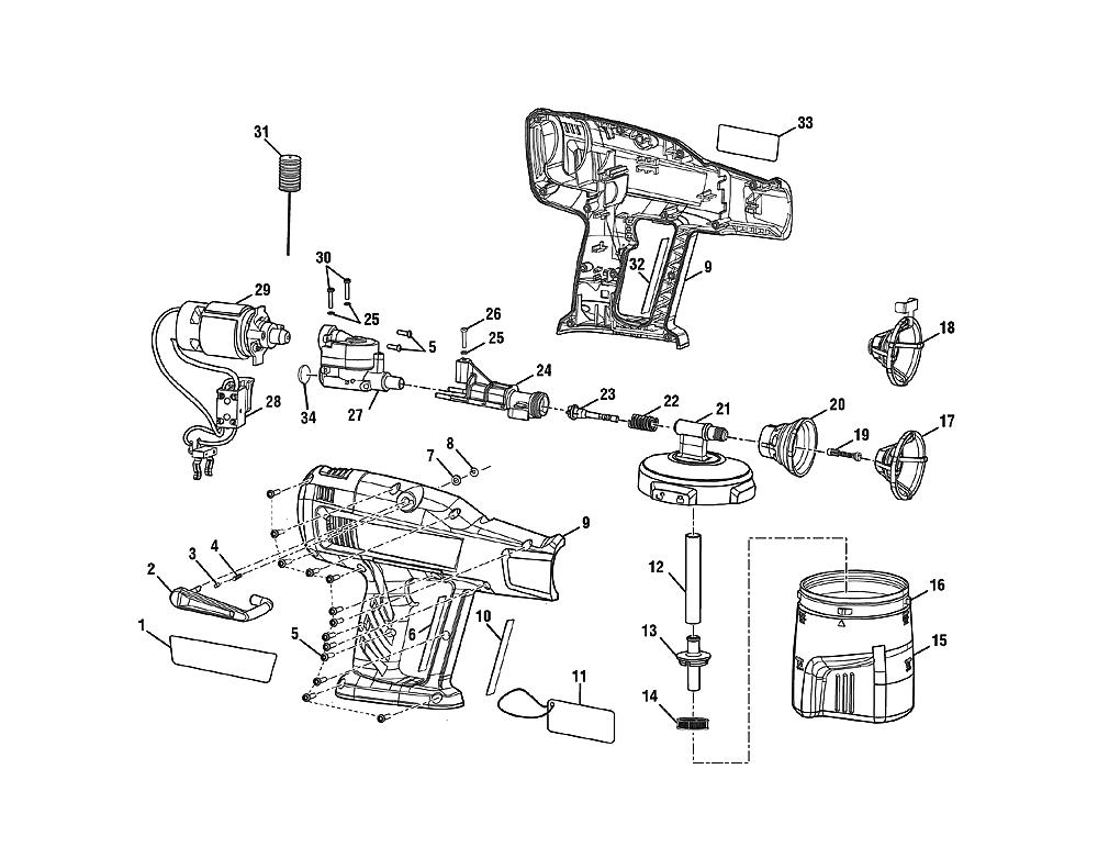 buy ryobi p631 replacement tool parts